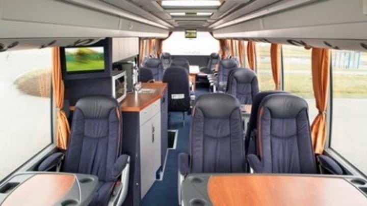 Zakelijk busvervoer